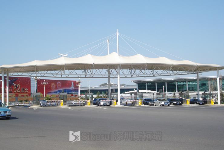 大连周水子国际机场膜结构