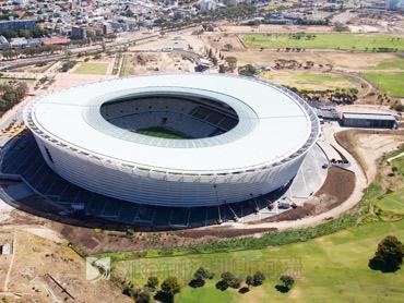 膜结构体育中心建筑图片
