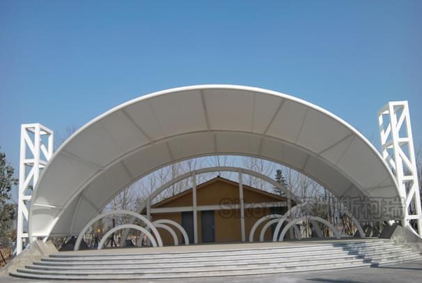 膜结构建筑的构造及类型有哪些?