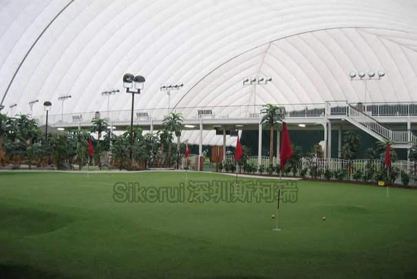 高尔夫球场充气膜结构