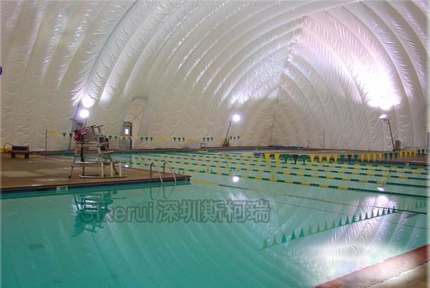 游泳馆充气膜结构
