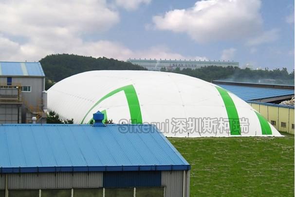 运动馆充气膜结构