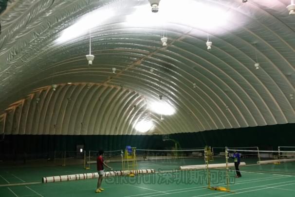 羽毛球场充气膜结构