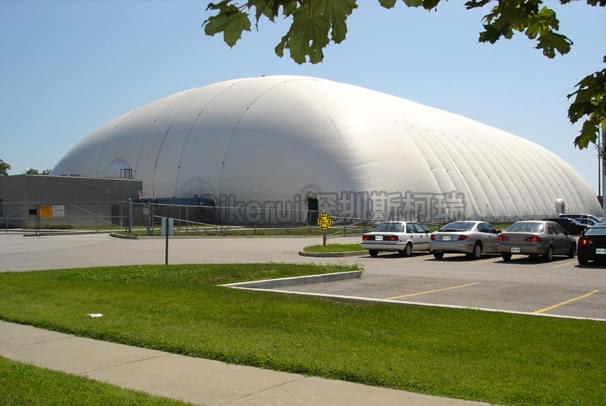 综合运动馆充气膜结构