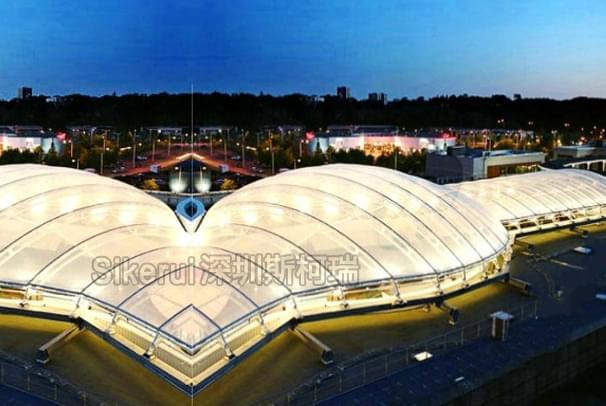 商业中心ETFE透明膜