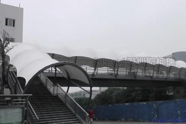 人行天桥膜结构