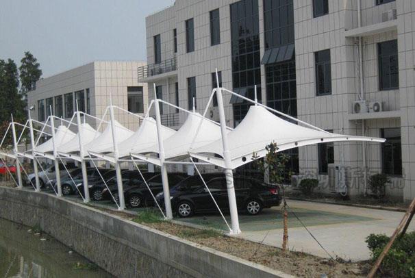 停车棚膜结构(五)
