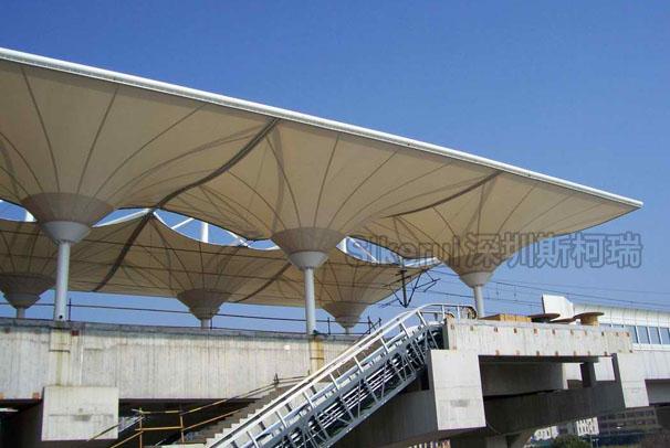 火车站膜结构