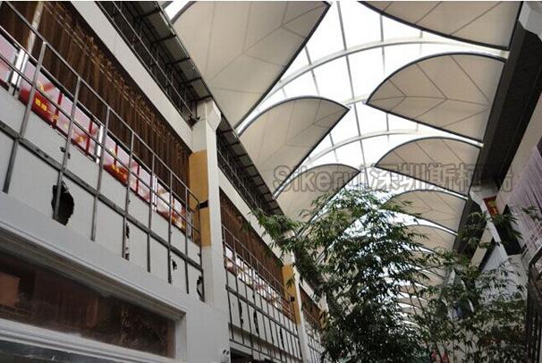 商业走廊膜结构