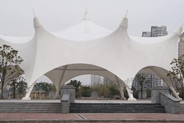 广场舞台膜结构