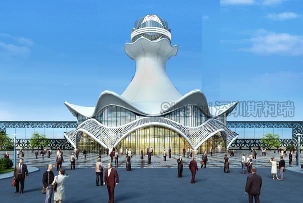 展览中心膜结构
