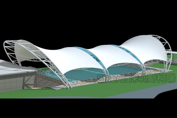 游泳池膜结构(二)