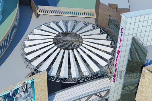 昆明同德广场ETFE膜结构