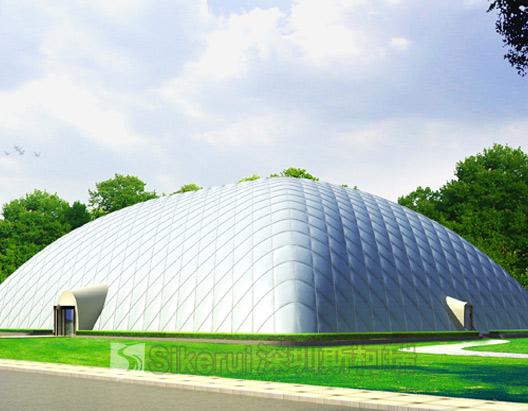 新疆游泳馆充气膜结构