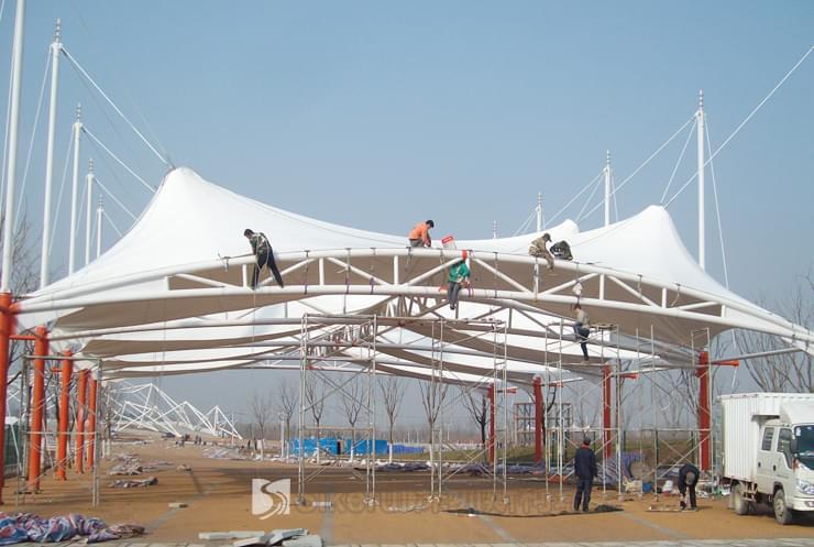 西安世界园艺博览会膜结构