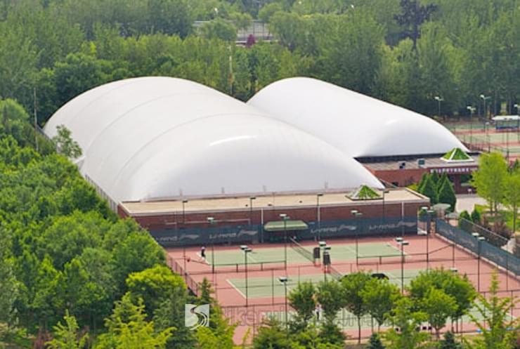 体育局网球馆充气膜结构