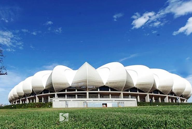 曼德拉港球场膜结构