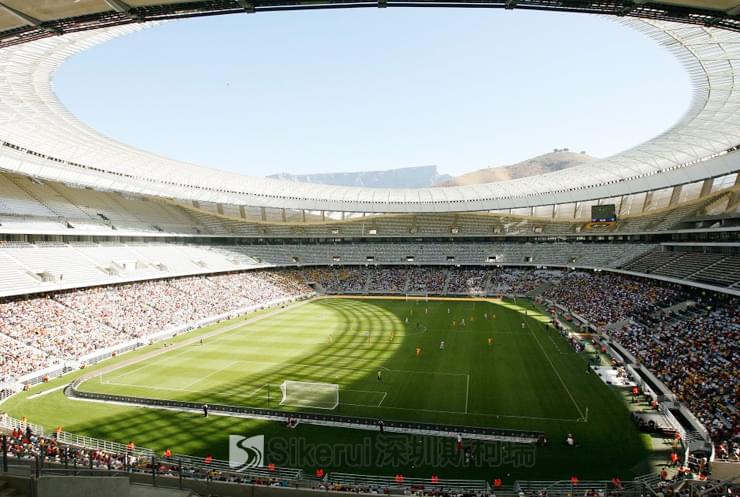 新绿点体育场膜结构
