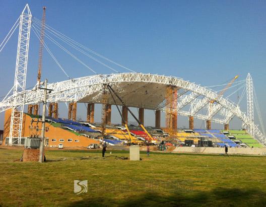 银基集团O秀体育馆膜结构