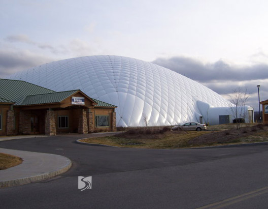 多伦多unioville小镇综合体育馆充气膜