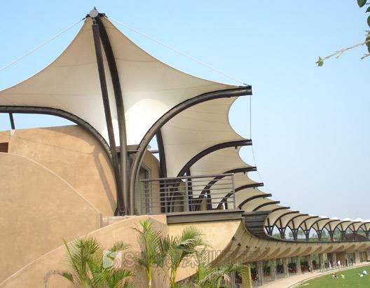 广州高尔夫球场膜结构