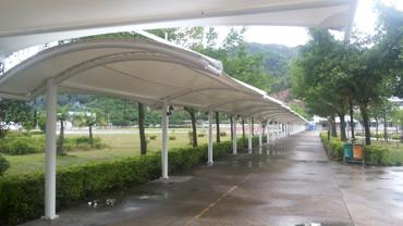 珠海新微学校连廊膜结构