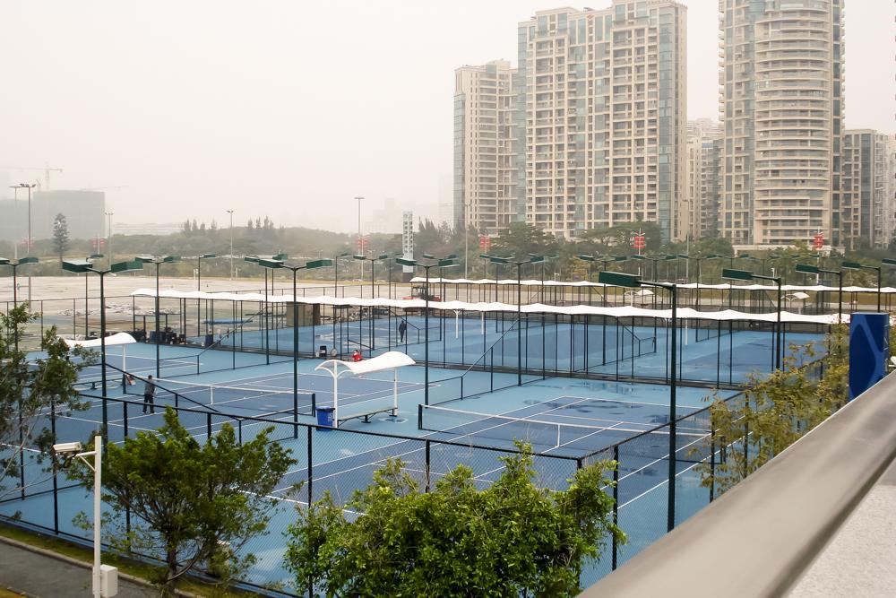 深圳湾网球中心长廊膜结构项目